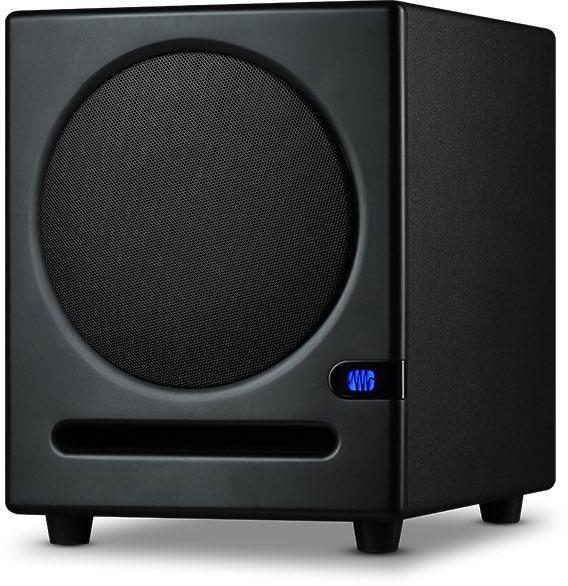 Presonus Eris Sub8 subwoofer rec home studio project mix monitor audio midi music strumenti musicali