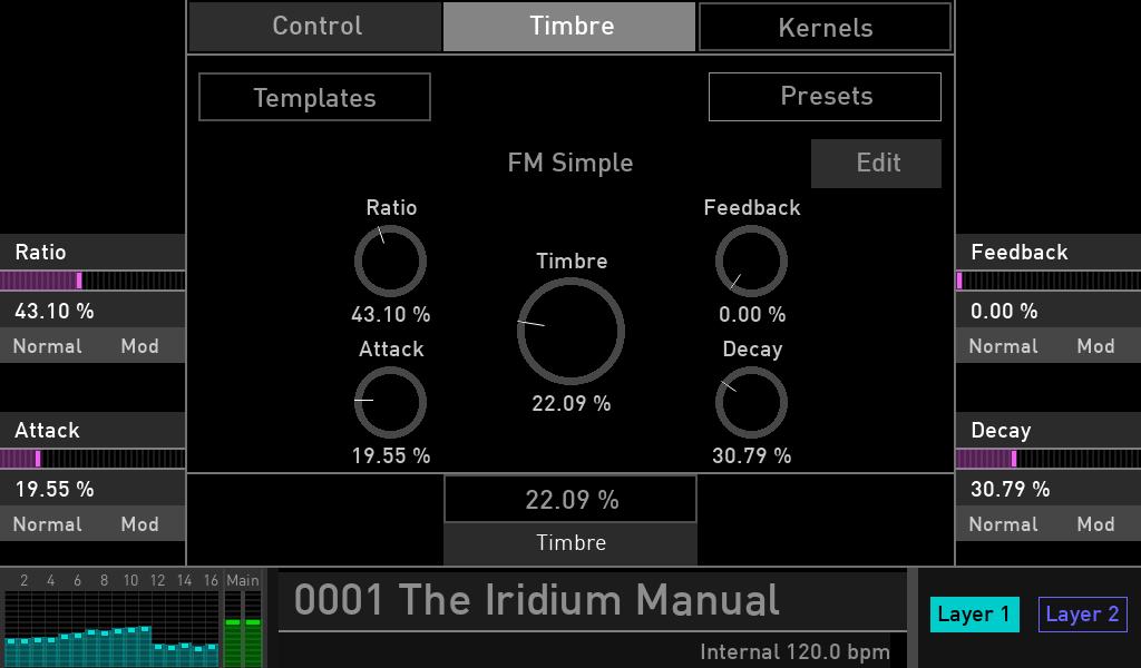 Waldorf Iridium synth test luca pilla sintetizzatore hardware digital soundwave kernel