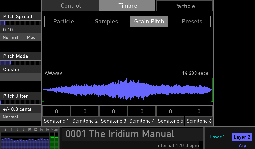 Waldorf Iridium synth test luca pilla sintetizzatore hardware digital soundwave grainpitch