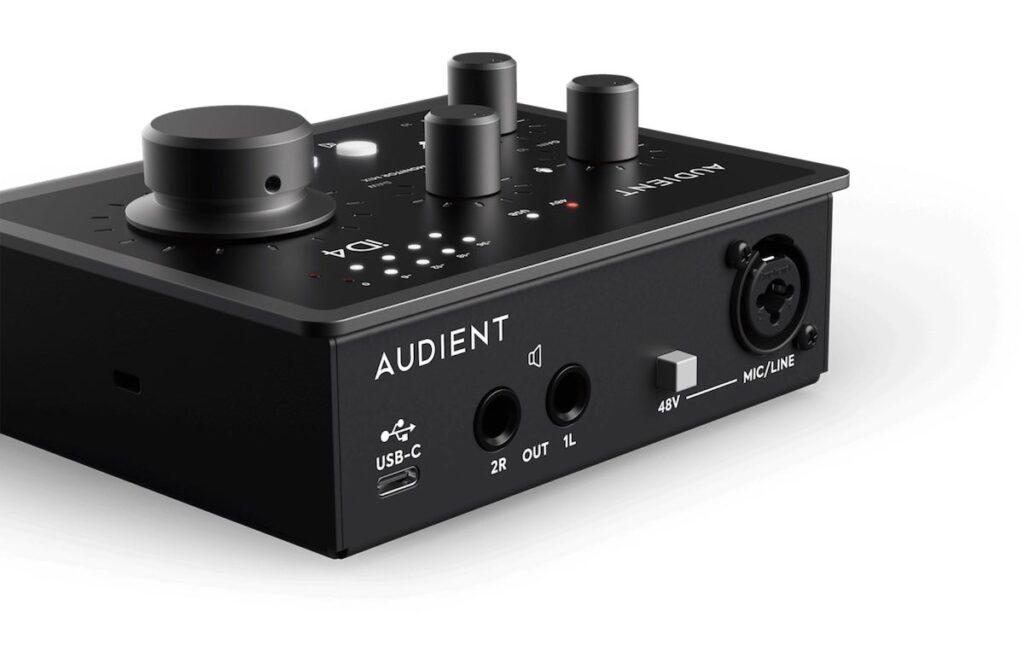 Audient iD4 mk2 interfaccia audio home recording studio leading tech strumenti musicali prezzo