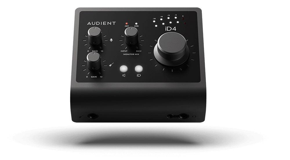 Audient iD4 mk2 interfaccia audio home recording studio leading tech strumenti musicali