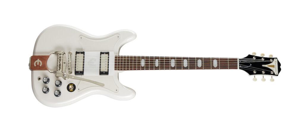 Epiphone crestwood custom polaris white guitar chitarra strumenti musicali gibson