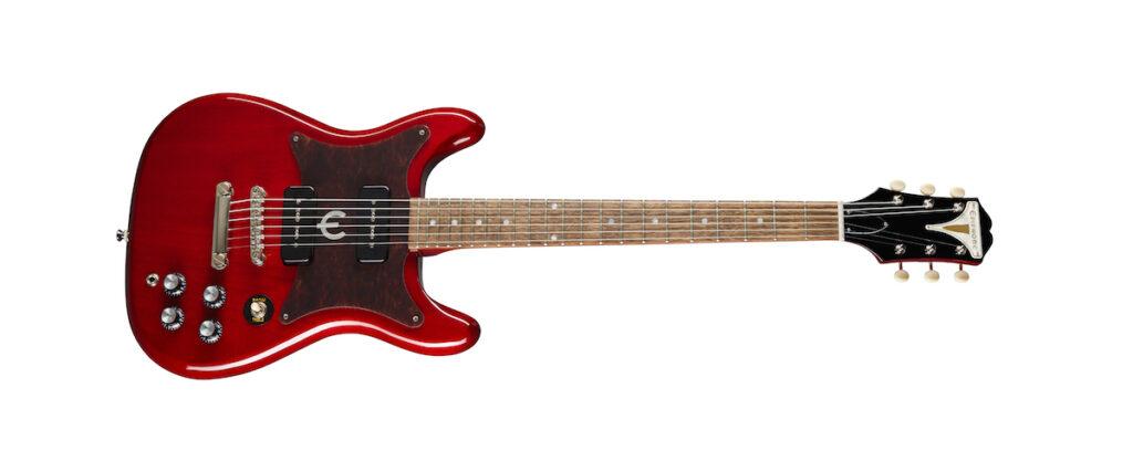 Epiphone wilshire p90 cherry guitar chitarra strumenti musicali gibson