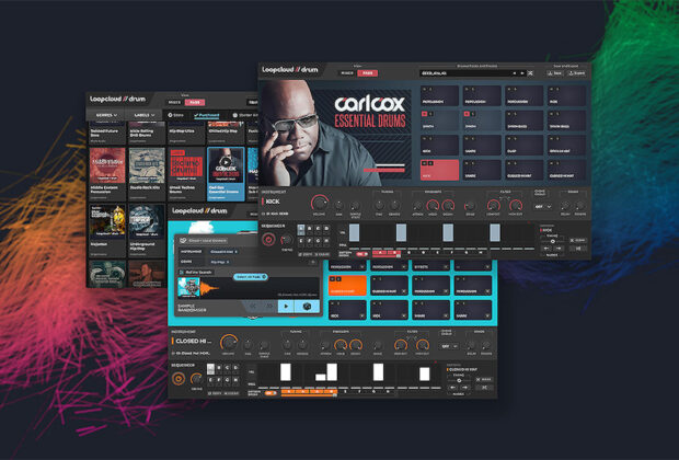 LoopcloudDRUM 1.5 loopmasters producer music software virtual daw strumenti musicali