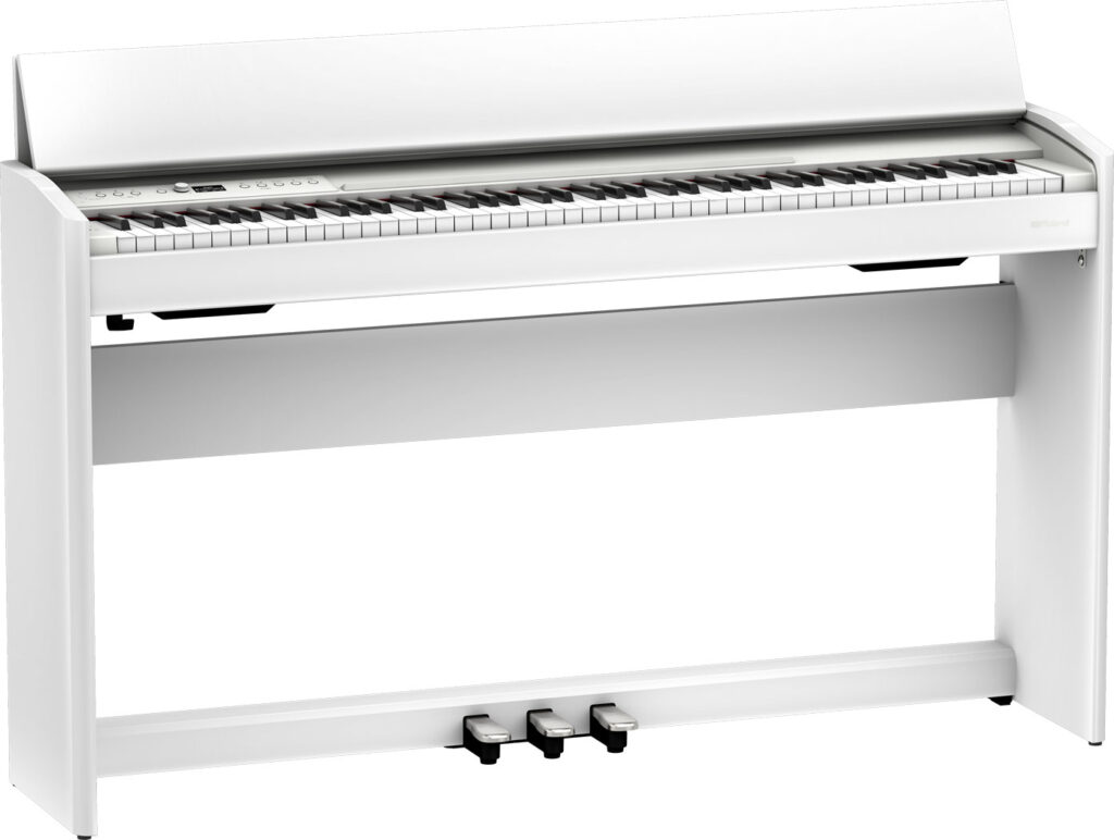 Roland F701 piano digitale home studio family strumenti musicali white superNATURAL