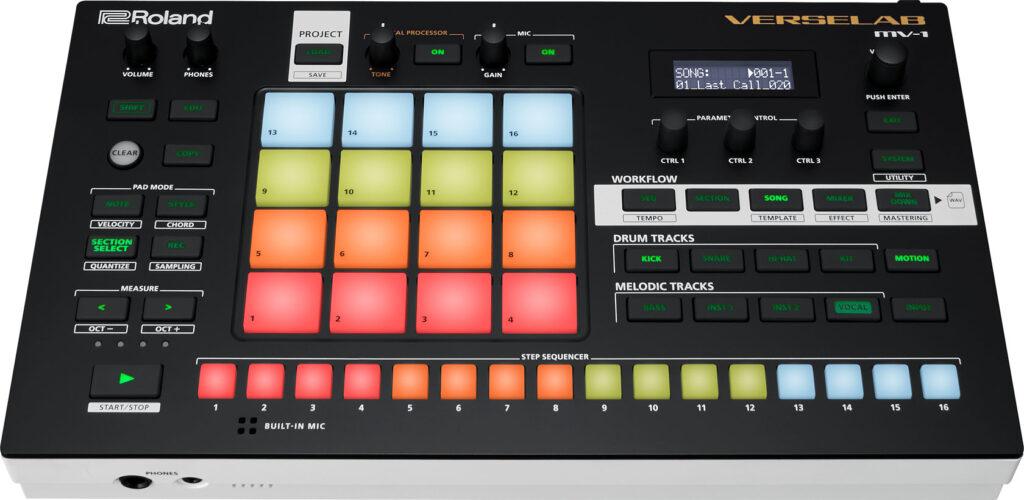 Roland Verselab MV-1 hardware music producer strumenti musicali prezzo