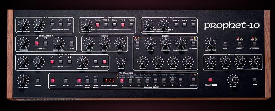 Sequential Prophet-10 Desktop sintetizzatore analog strumenti musicali synth novità news