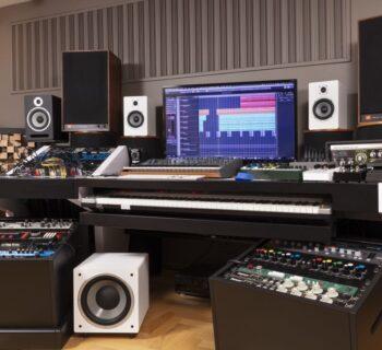 Soundsation Clarity rec monitor speaker home project studio audiofader