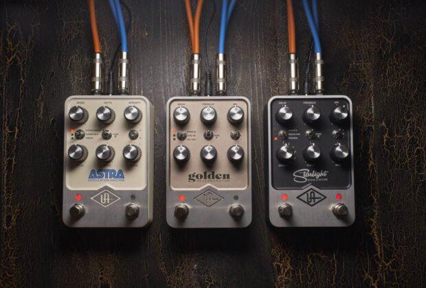 Universal Audio UAFX pedali fx stompbox guitar chitarra effetti midiware sturmenti musicali