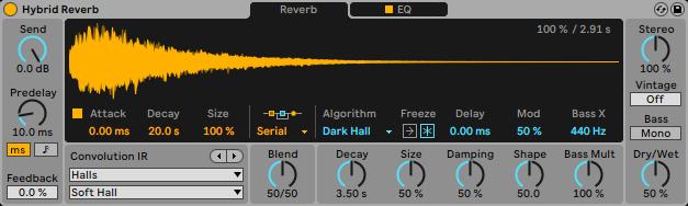 ableton live 11 reverb plug-in software dj producer novità news strumenti musicali