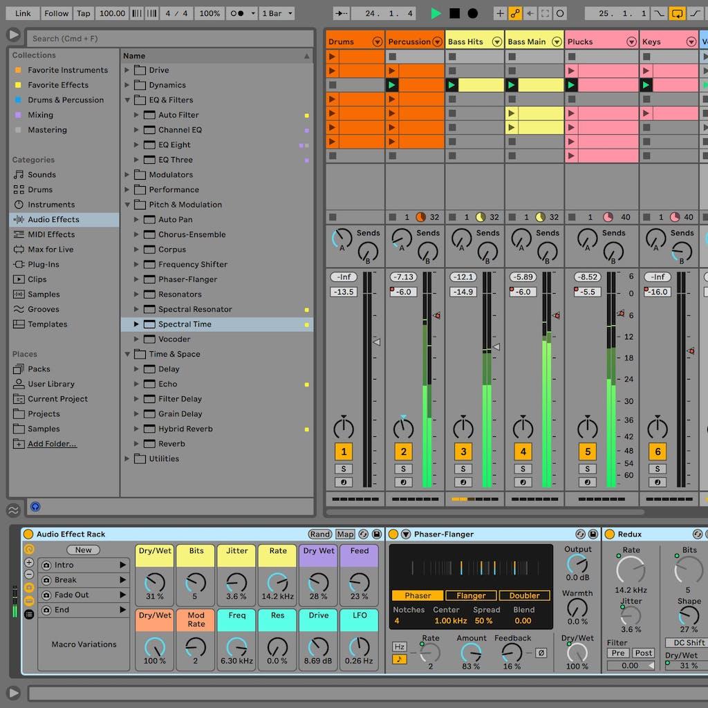 ableton live 11 plug-in software dj producer novità news strumenti musicali