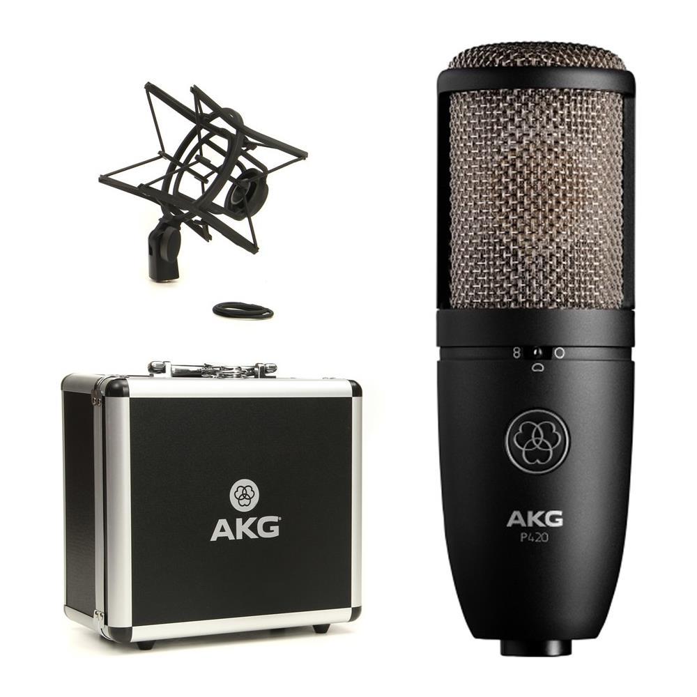 AKG P420 mic strumenti musicali