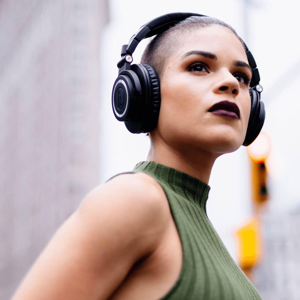 Audio-Technica ATH-M50xbt Sisme consumer hardware audio gaming sport cuffie microfono headphones mic strumenti musicali