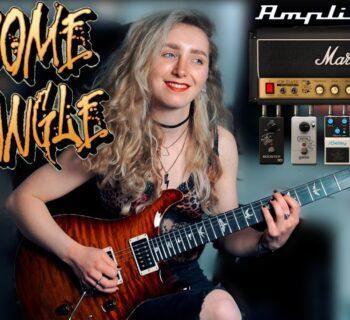 Ik Multimedia AmpliTube 5 Sophie Burrell guitar fx software mogar video tutorial