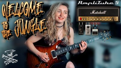 Ik Multimedia AmpliTube 5 Sophie Burrell guitar fx software mogar video tutorial