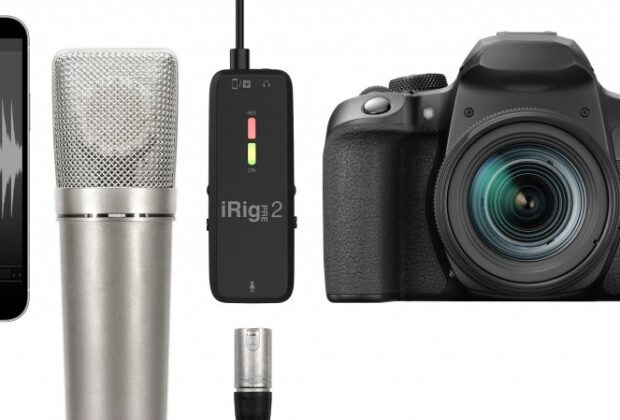 Ik Multimedia iRig Pre 2 interfaccia audio mobile hardware recording mogar sturmenti musicali dslr