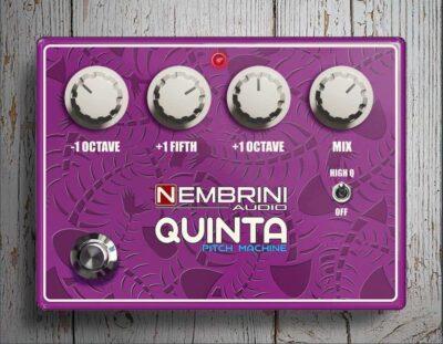 Nembrini Audio Quinta Pitch Machine software daw plug-in guitar fx strumenti musicali