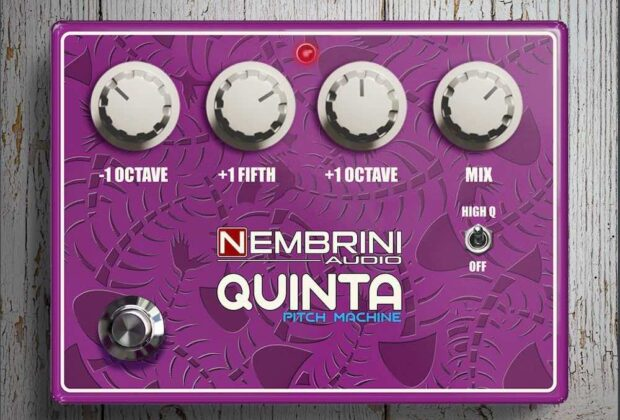 Nembrini Audio Quinta Pitch Machine software daw plug-in guitar fx strumenti musicali