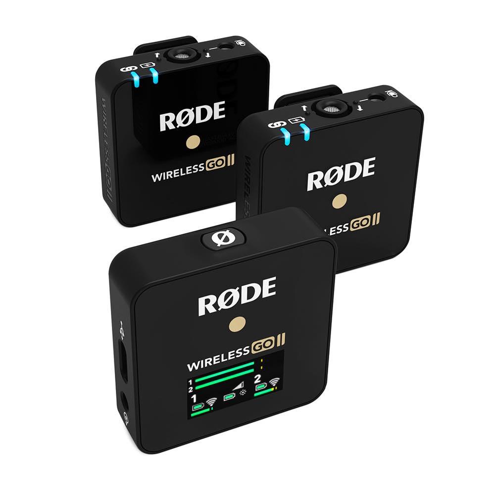 Røde Wireless GO 2 kit pro audio live recording broadcast media production prezzo midi music strumenti musicali