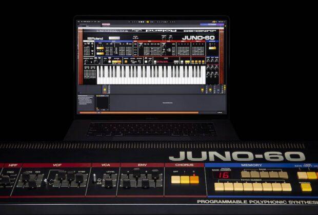 RolandCloud JUNO-60 soft synth sintetizzatore virtual instrument producer strumenti musicali roland