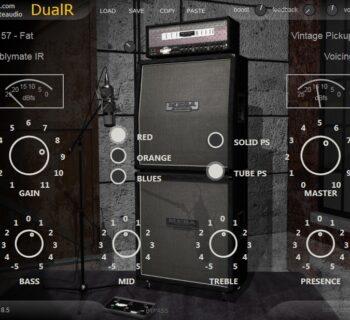 SKnote DualR plug-in audio software guitar modeling amp cabinet strumenti musicali