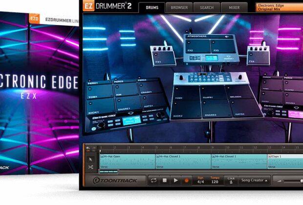 Toontrack Electronic Edge EZX software virtual instrument midiware strumenti musicali