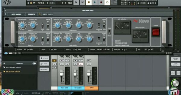 Tutorial UAD Neve software mixing midiware andrea scansani video neve