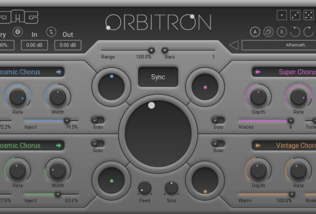 United Plugins JMC Orbitron software plug-in audio virtual mixing strumenti musicali