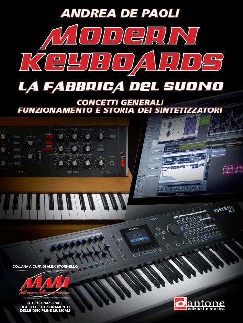 Modern Keyboards Andrea De Paoli libro sulla sintesi del suono smstrumentimusicali luca pilla
