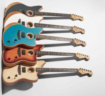 Fender Acoustasonic Jazzmaster chitarra acustica strumenti musicali