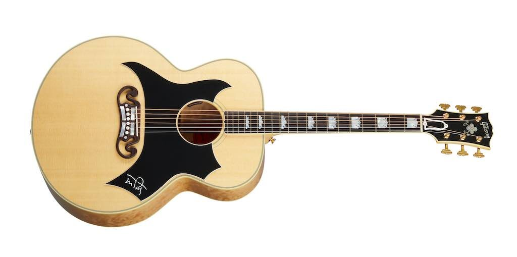 Gibson SJ-200 Tom Petty chitarra acustica custom artist strumenti musicali