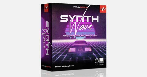 Ik Multimedia Hitmaker: Synthwave sample library virtual instrument plug-in strumenti musicali SampleTank
