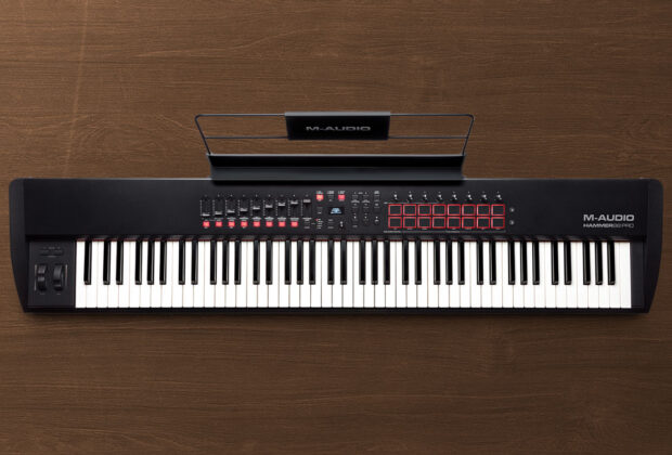 M-Audio Hammer 88 Pro hardware controller MIDI tastiera soundwave strumenti musicali