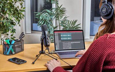 Marantz Professional MPM-4000U recording podcast usb mic home studio soundwave strumenti musicali