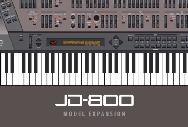 Roland JD-800 Model Expansion jupiter-x jupiter-xm zenology strumenti musicali software hardware