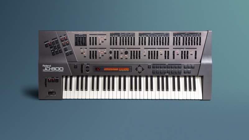 Roland JD-800 strumenti musicali hardware synth