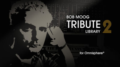 Spectrasonics Bob Moog Tribute Library virtual instrument sample library synth soft omnisphere strumenti musicali
