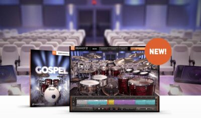 Toontrack Gospel virtual instruments sample library drum ez drummer superior batteria midiware strumenti musicali