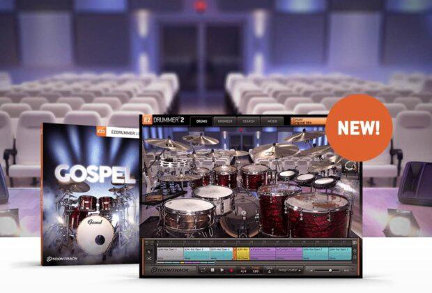 Toontrack Gospel virtual instruments sample library drum ez drummer superior batteria midiware strumenti musicali