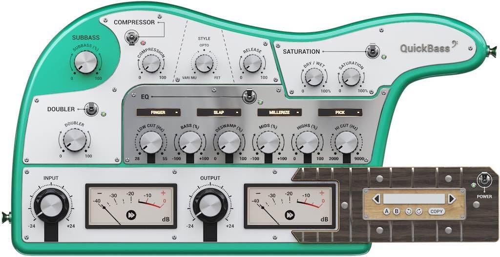 United Plugins Instant Audio QuickBass plug-in audio software daw strumenti musicali