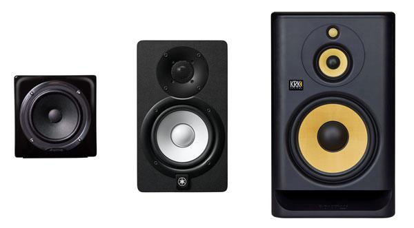 speaker monitor studio