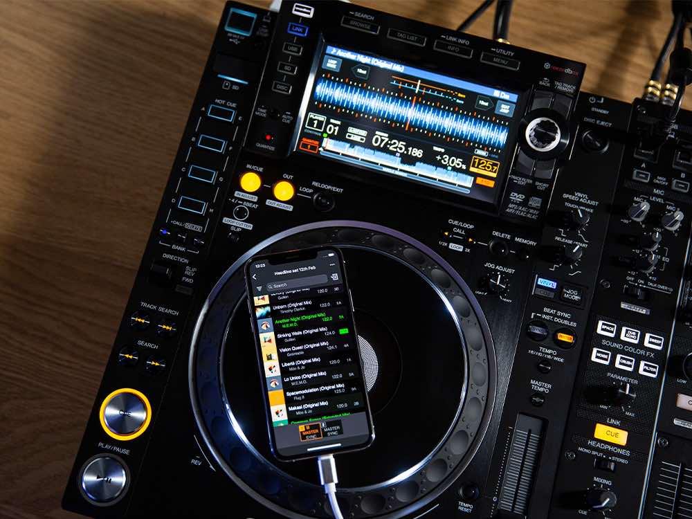recordbox Android mobile dj djing app software soundwave strumenti musicali