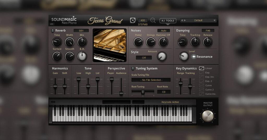 virtual instrument pianoforti