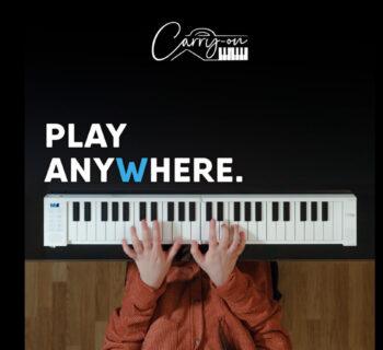 Blackstar Carry On Piano 49 keyboard midi controller hardware adagio strumenti musicali