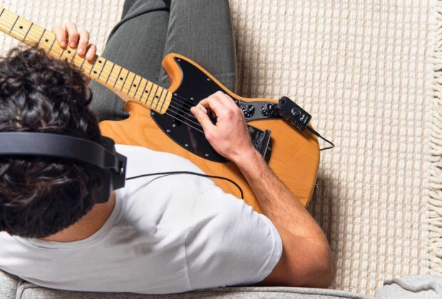 fender Mustang Micro amplificatore chitarra portatile mobile strumenti musicali