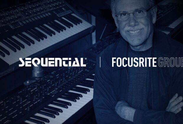 Focusrite Group Sequential synth sintetizzatore strumentimusicali