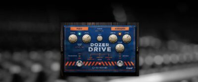 Fuse Audio Labs Dozer Drive plug-in pedale per chitarra software virtual fuzz screamer strumentimusicali