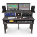 Glorious Workbench Driftwood studio desk scrivania monitor outboard recording mixing soundwave strumentimusicali