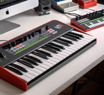 Ik Multimedia UNO Synth Pro Desktop video tutorial sintetizzatore mogar strumentimusicali