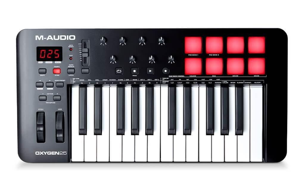 M-Audio Oxygen 25 MKV tastiera controller MIDI master keyboard soundwave strumentimusicali prezzo